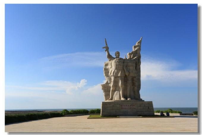 海南岛-临高角-解放海南岛纪念公园  小时候听父亲说起过一直没有