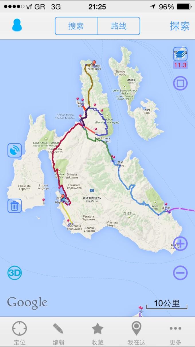 凯法利尼亚岛是爱奥尼亚海的第一大岛,距离扎金索斯1小时船程,  夏季