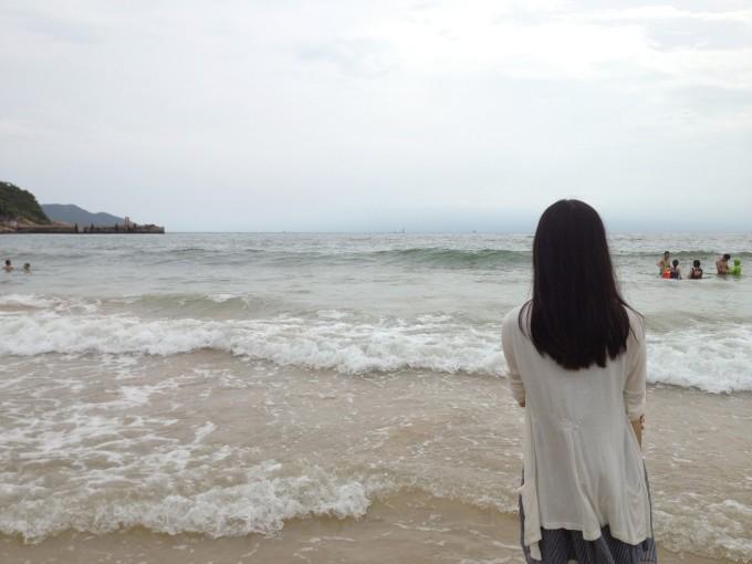 「茹」在东澳岛,久违一望无际的大海