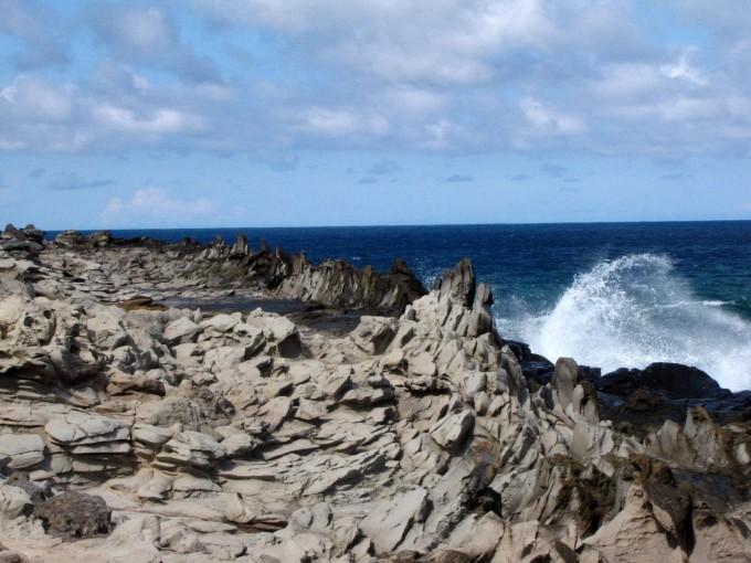 夏威夷群岛是火山岛,对于这么一些面积并不大的岛来