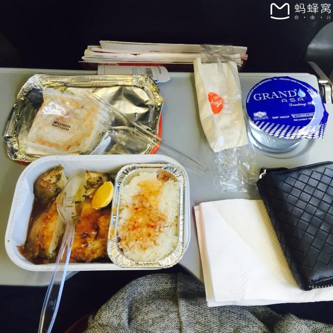 【亚航飞机餐,味道还不错呀】