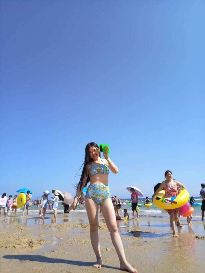 阳江(光),海滩,美女(闺蜜),比基尼,海陵岛旅游攻略
