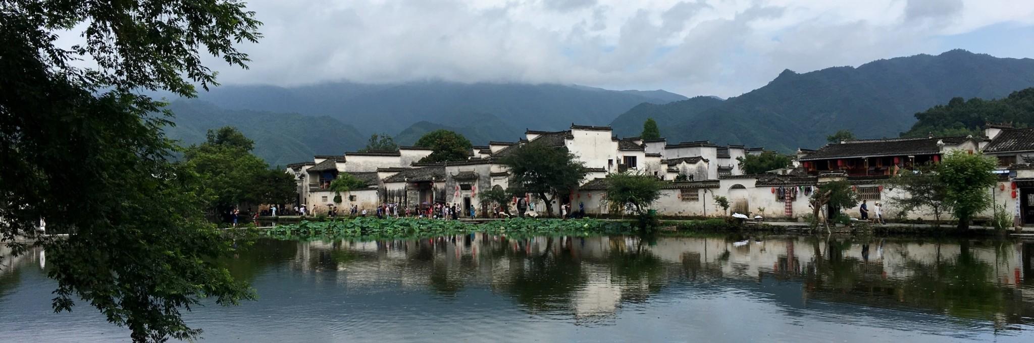 """""""水墨画中的村庄""""——宏村"""